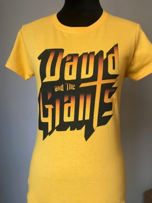 David and the Giants T-Shirts – Women's (Gold)