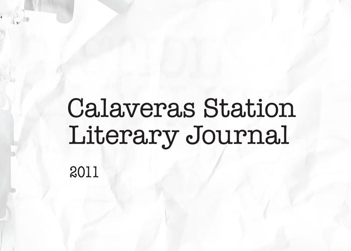 David Hunt Design — Calaveras Station Literary Journal — 2011