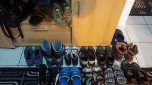 Max pazind pantofii