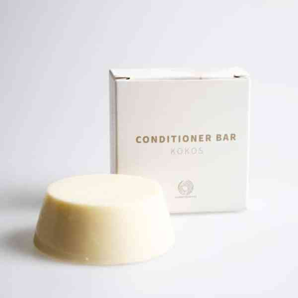 Davidii Conditioner Bar Kokos Verpakking