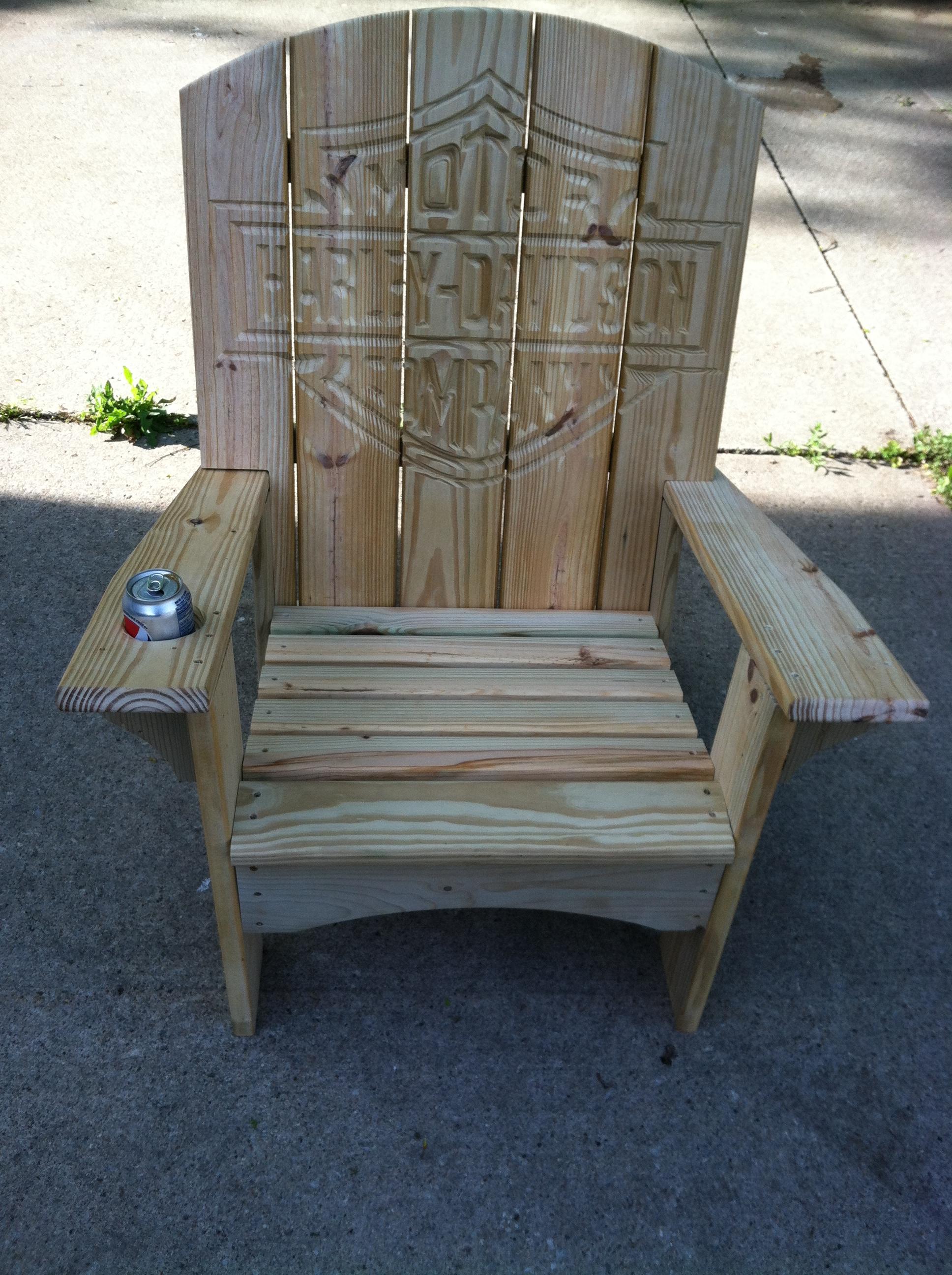 Pressure Treated Pine Adirondack Chairs