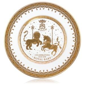 royal baby - l'assiette commémorative
