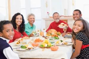 diner de noël en famille