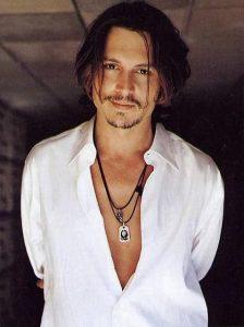 Johnny Depp et ses mèches
