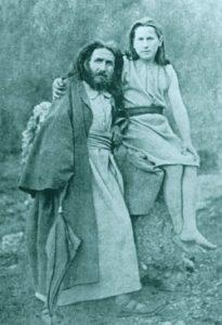 Karl Wilhelm Diefenbach et Hugo Höppener à Höllriegelskreuth, 1887