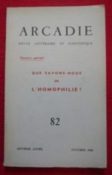 Arcadie 1960 - Le glamour, toujous...