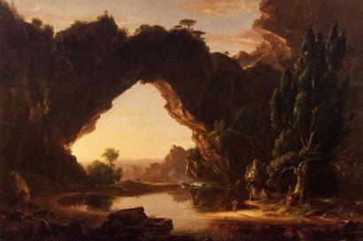 Cole Thomas - Un soir en Arcadie 1843