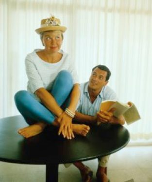 Doris Day fait sa coquine & Rock Hudson en extase - 1961