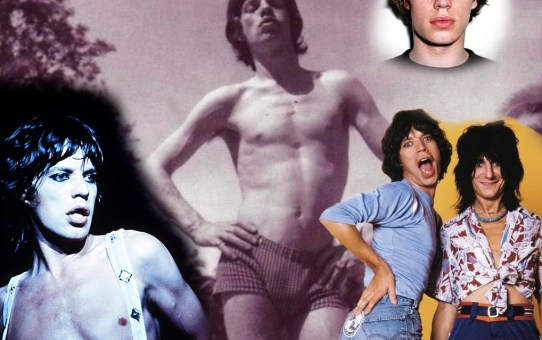 Mick Jagger - montage