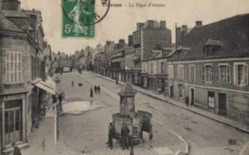 carte postale 1905 -Fenster zum klo - collection Marc Martin