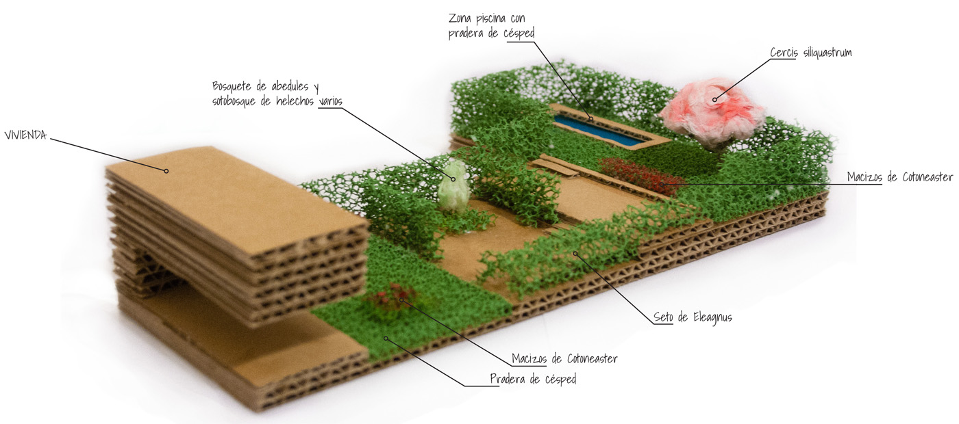 Jardines  David Jimnez Arquitectura y paisajismo en Madrid