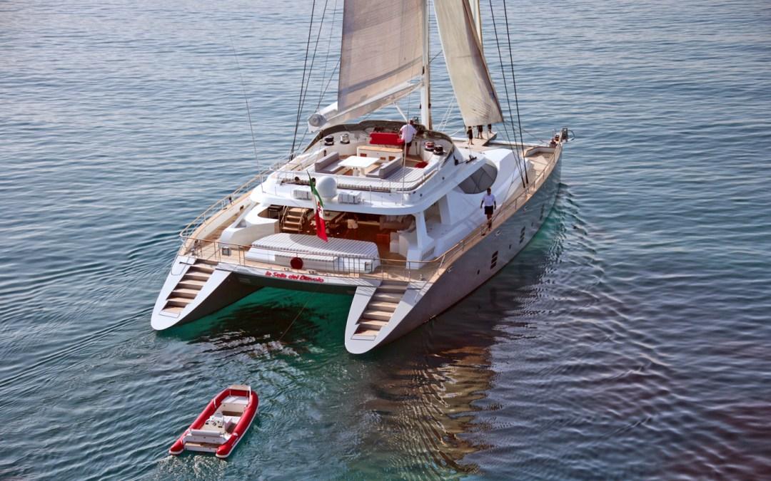 107′ Sailing Catamaran