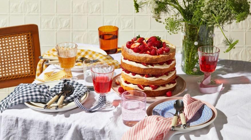 Cake and Tagliatelle