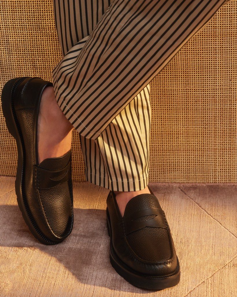 bally loafer mens brown leather