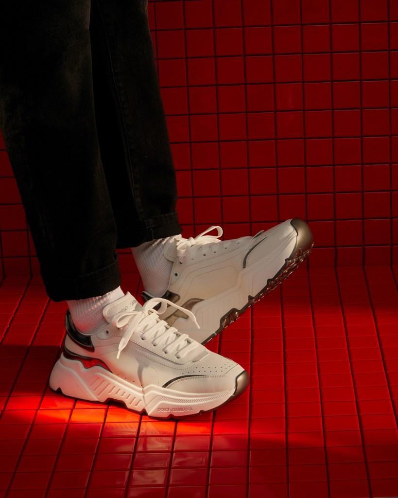mens designer sneakers dolce gabbana