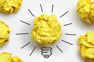 Lightbulb good idea