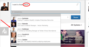 """How to Use the New LinkedIn Status Update """"Tags"""""""