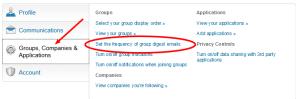 Settings Page - Groups LinkedIn 12-15-14
