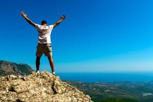 Rock, Men, Climbing.