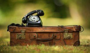 Vintage briefcase phone - compressed