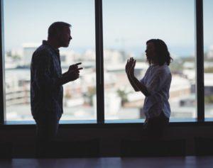 business argument, not collaboration