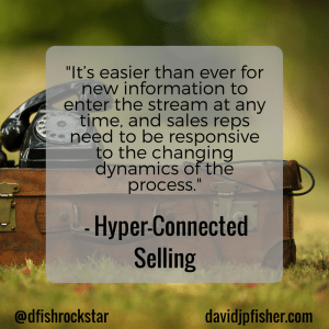 Hyper-Connected Selling Idea #18