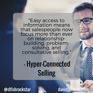Hyper-Connected Selling Idea #8