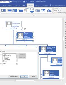 No superfluous shape data rows also aliasing columns for visio organization chart wizard bvisual rh blogisual