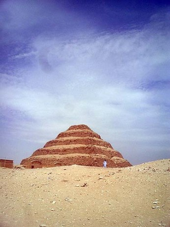 saqqara step pyramid Egypt