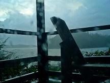 Storm balcony Tofino West Coast of Vancouver Island Canada