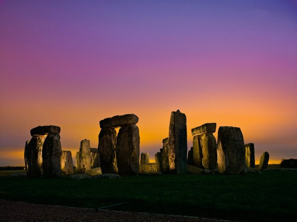 Stonehenge In Flames Cult Of Cthugha Fire Elementals