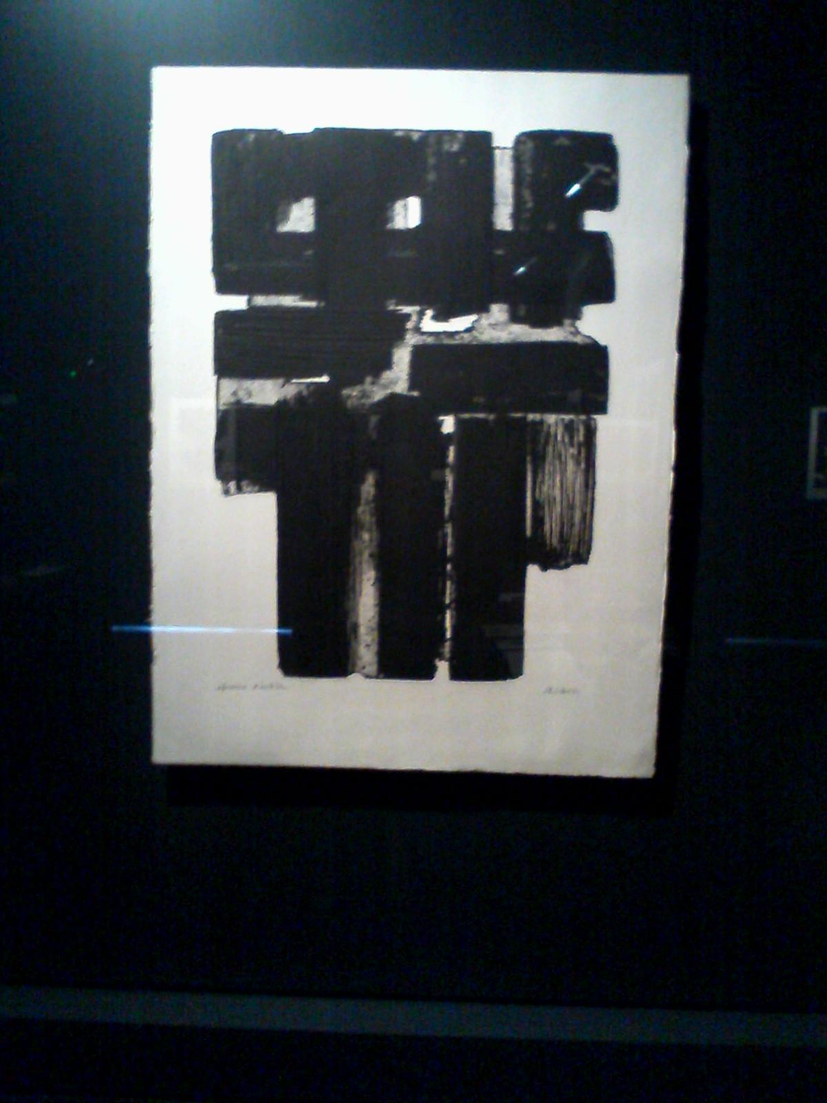 Composition Rouille Et Noire Xxv : composition, rouille, noire, Musée, Pierre, Soulages, (Rodez), C'est, Noir,, Pas…, Charlie, Fourmilière