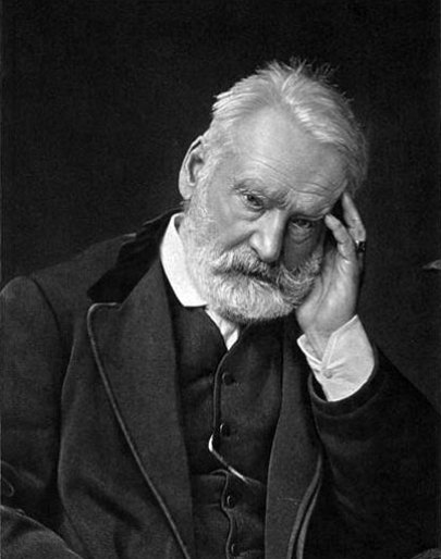 Photogravure of Victor Hugo