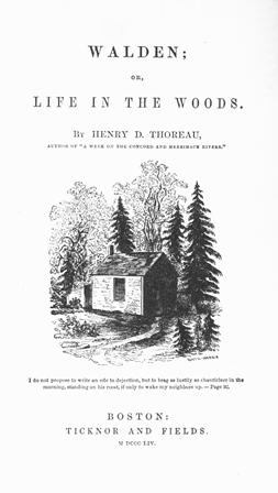 Say it with Pencils: Happy Birthday Henry David Thoreau