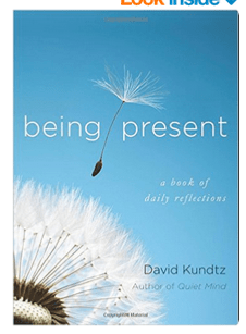 DAVID'S NEW BOOK: Being Present