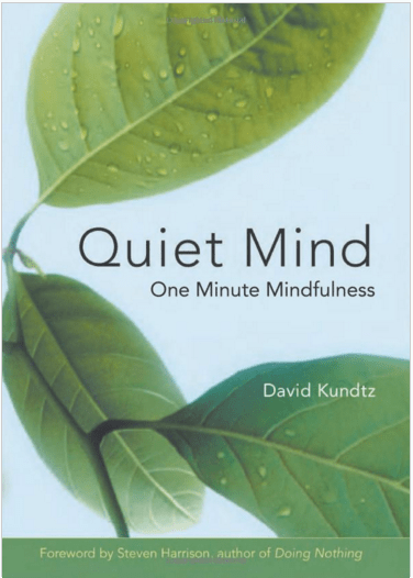Quiet Mind by David Kundtz, 376x526