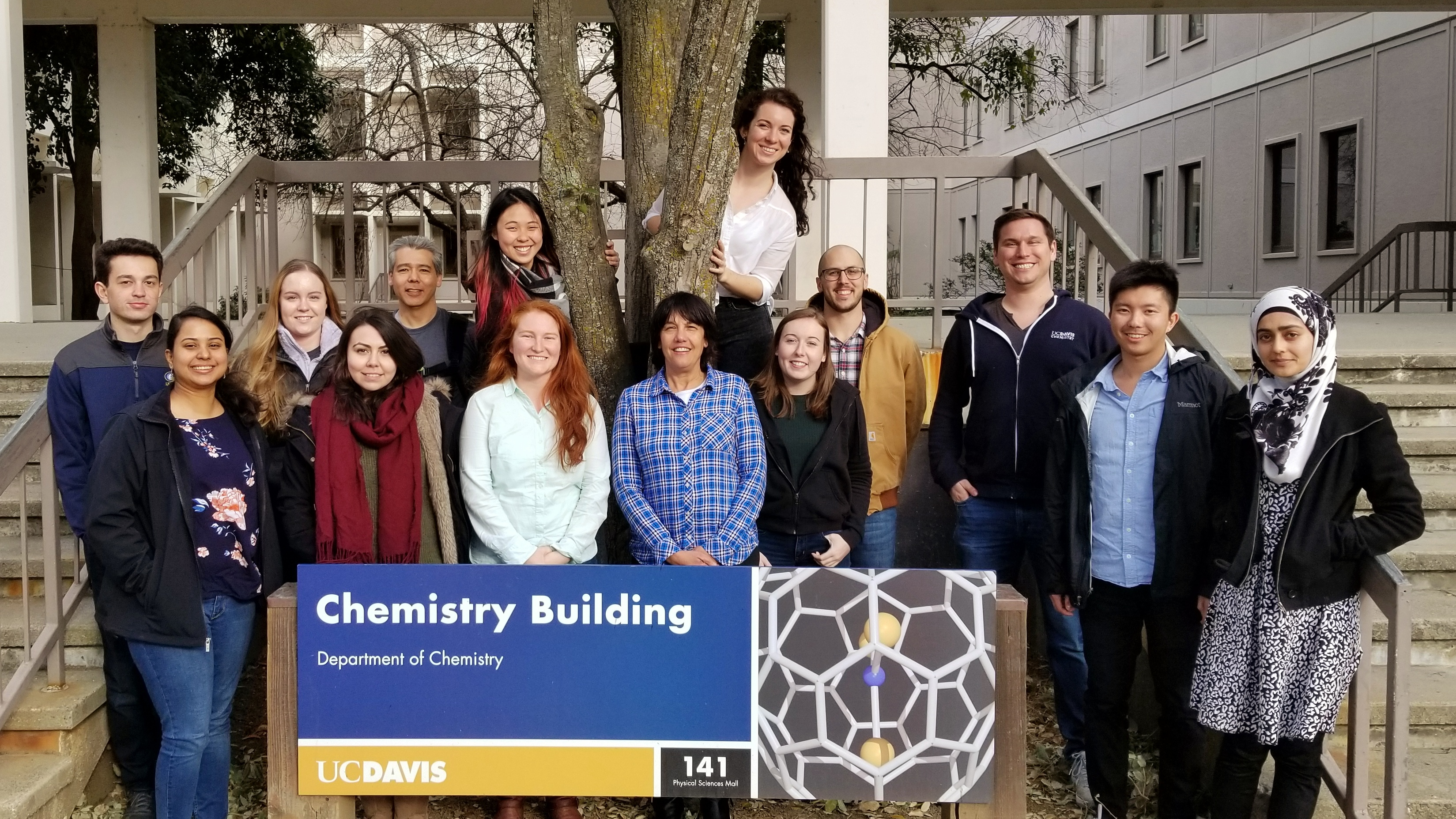 David Lab Group Picture - Feb 2018