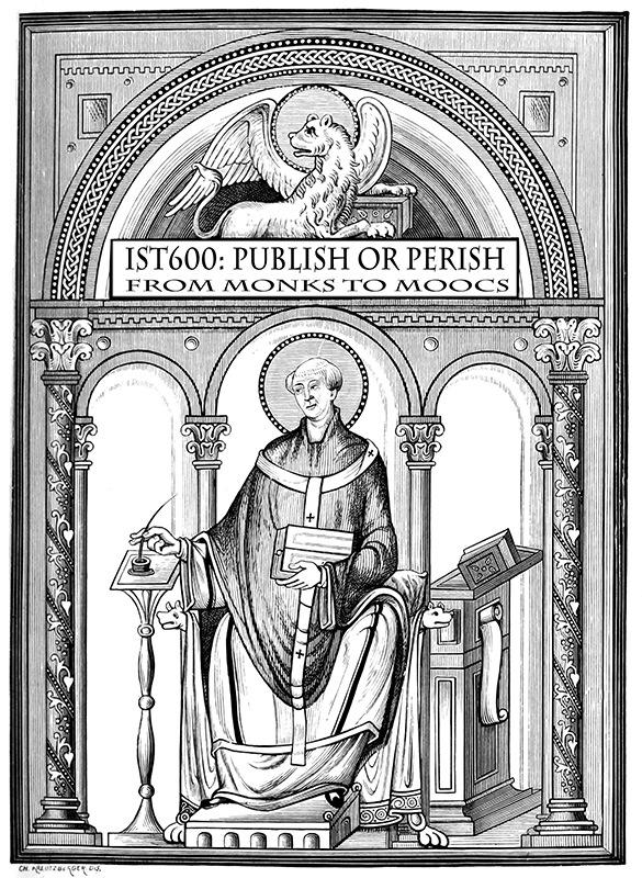 Publish or Perish From Monks to MOOCs R David Lankes