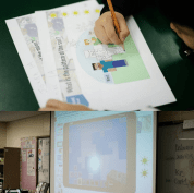 Marking the patterns of the sun using Minecraft