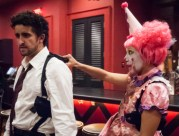 Alex Martinez Wallace (Happy) and Jessica Amber Lozano (Popo). (Photo by John B. Barrois)