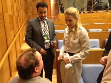Samtal med Eugenia Tymoshenko