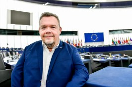 David LEGA in the European Parliament in Strasbourg. © European Union 2019 – EP/Jean-Christophe.