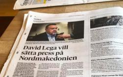 Göteborgs-Posten skriver om mitt kommande besök till Nordmakedonien. Jag åker dit för att med egna ögon se hur hemsk situationen på institutionerna är.