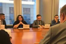 Samtal med Helena Dalli, tilltänkt kommissionär för jämställdhet. Jag frågade bland annat om hennes kommande arbete vad gäller situationen för unga tjejer som är utsatta för våld.