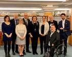 Jag bjöd in till ett frukostmöte med de internationella cheferna för några av de stora barnrättsorganisationerna, så som Rädda Barnen och Plan International, för att diskutera hur vi kan ha ett bra samarbete under de kommande åren.