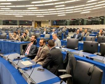 Konstituerande möte för Europaparlamentets Intergrupp för funktionsnedsättningar. Det första som vi kommer att titta närmare på är den nya strategin för funktionshinderfrågor inom EU.