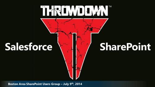 Salesforce vs SharePoint
