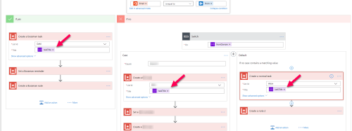 Using the variable multiple times in Flow