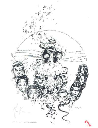David Mack Guide.com: Portfolio > Prints: Wein's World