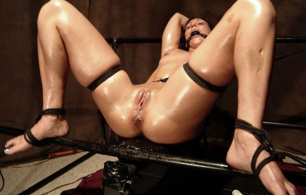 Wenona oiled and tickled to orgasm 5